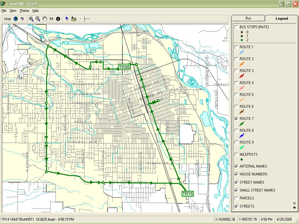 2005 NW ESRI Conference - City of Yakima, Washington Single Route