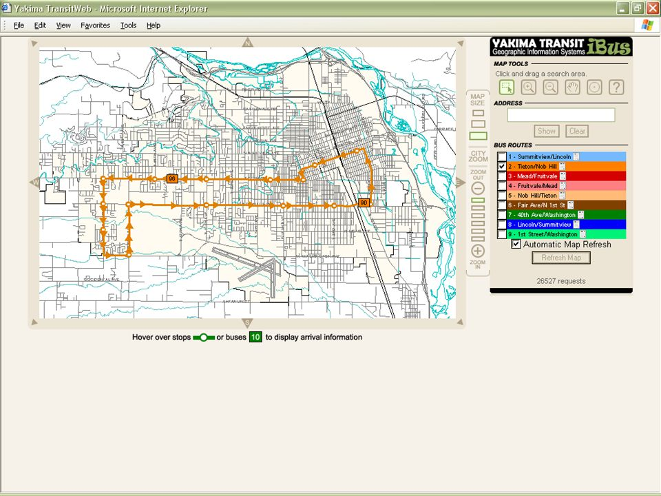 2005 NW ESRI Conference - City of Yakima, Washington One Route