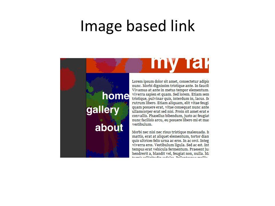 Image based link