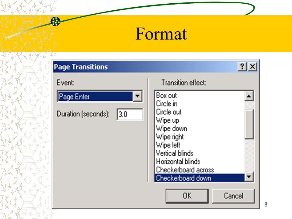 8 Format
