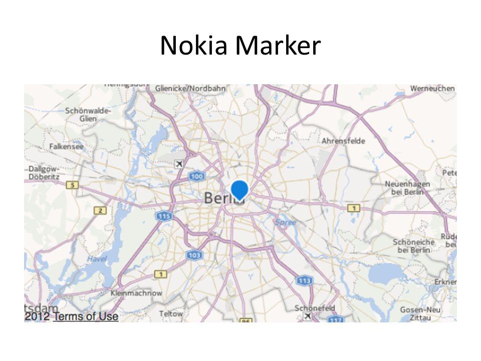 Nokia Marker