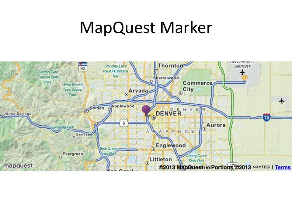 MapQuest Marker