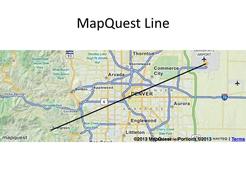MapQuest Line