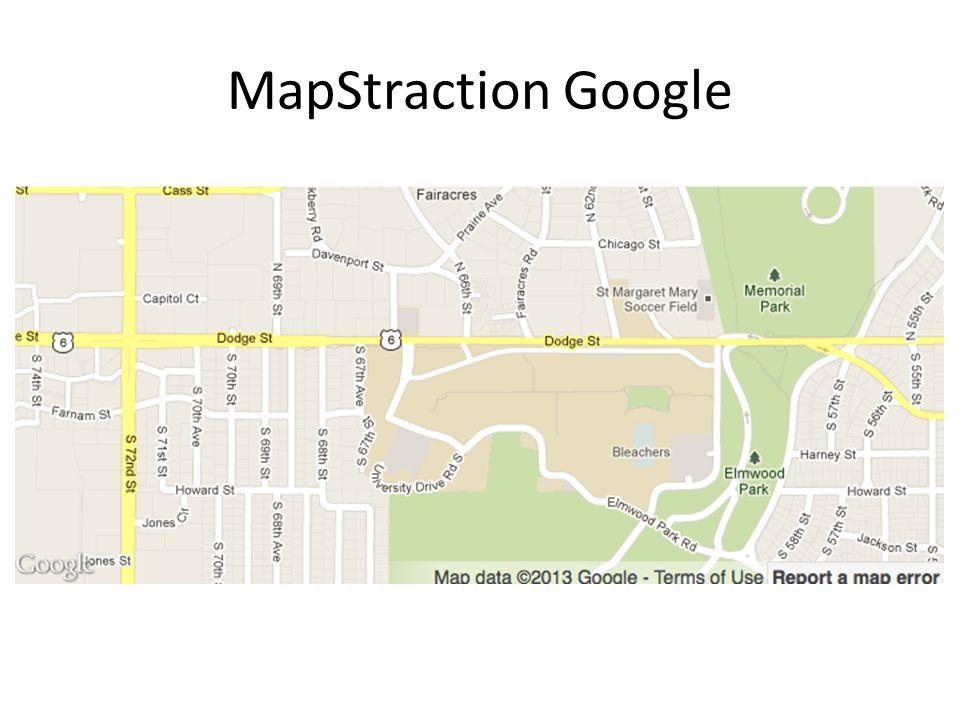MapStraction Google