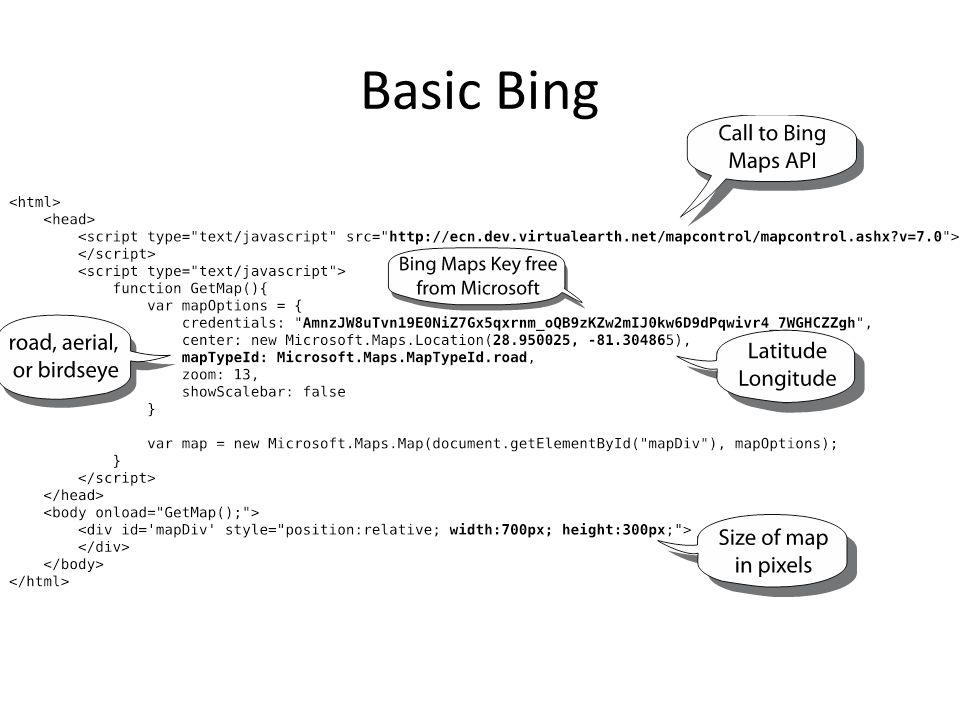Bing Marker
