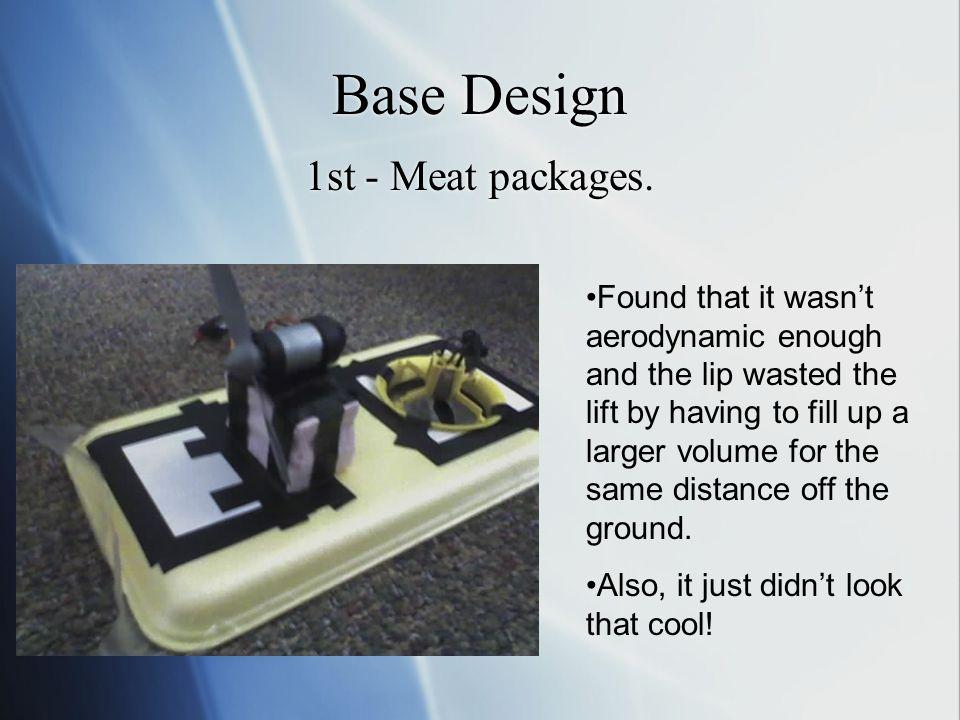 Base Design 1st - Meat packages.