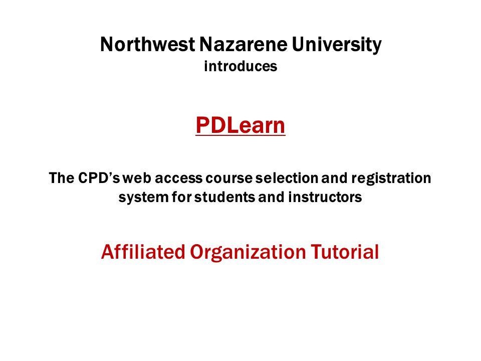 Go to pdlearn.nnu.edupdlearn.nnu.edu Click Get Started