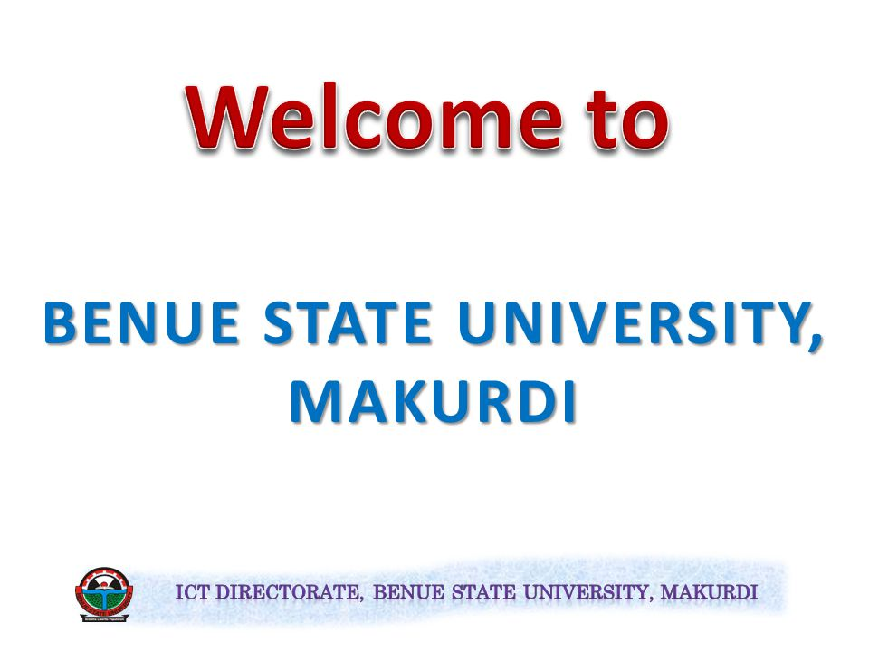 BENUE STATE UNIVERSITY, MAKURDI