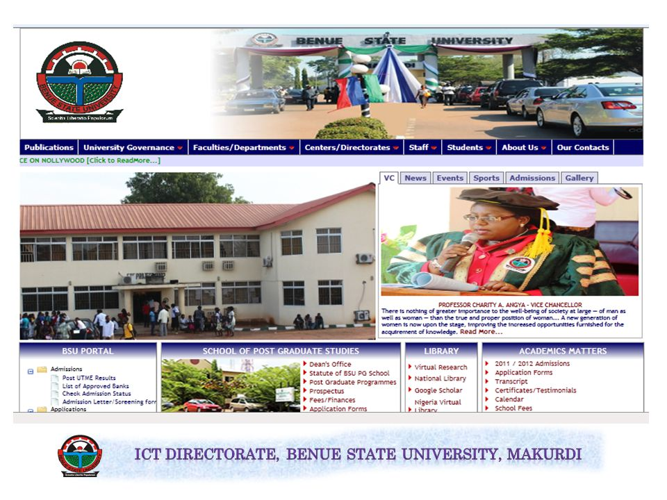 To open the BSU Portal, go through the university web site.