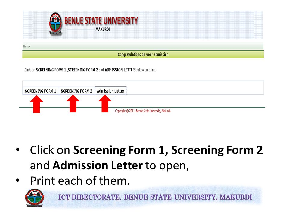 Type your UTME Registration Number in the text box provided and Click on the Submit button.