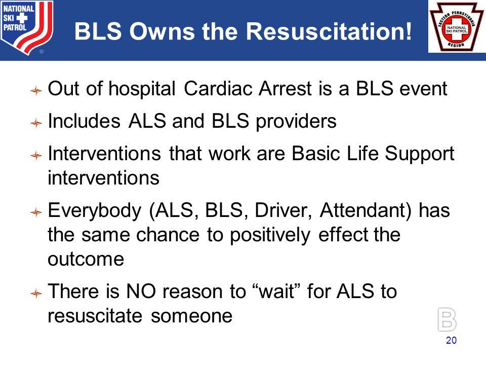 BRADY BLS Owns the Resuscitation.