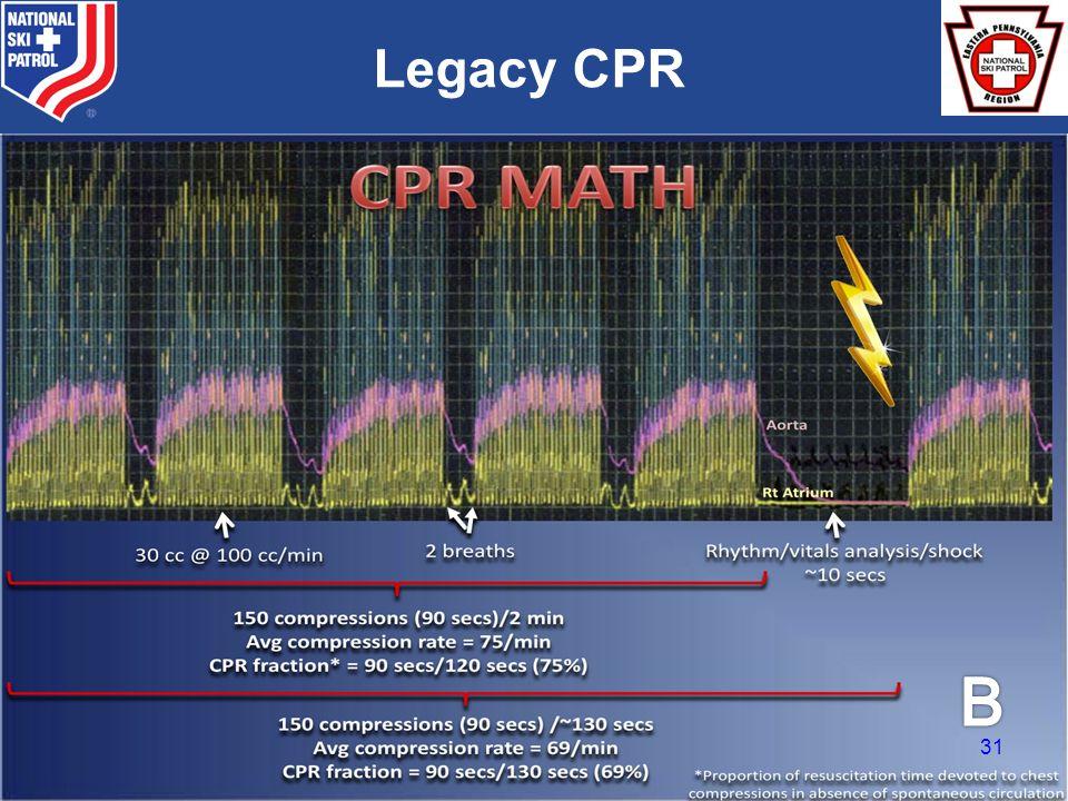 BRADY Legacy CPR 31