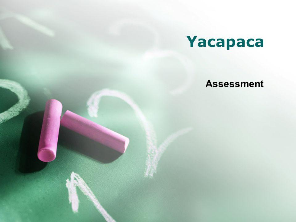 Yacapaca Assessment