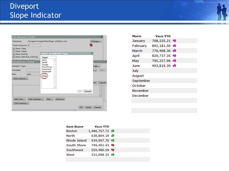 Diveport Slope Indicator
