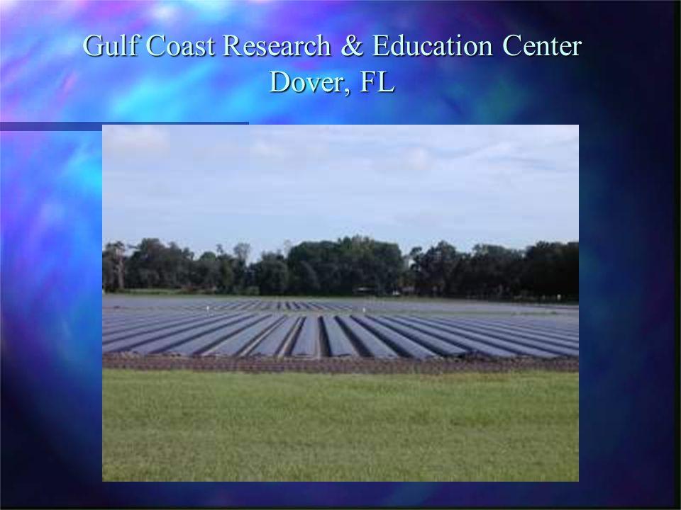 Gulf Coast Research & Education Center Dover, FL