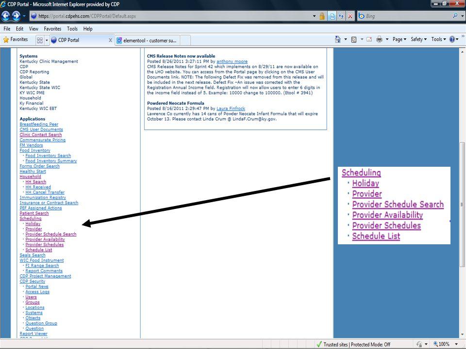 New Provider screen
