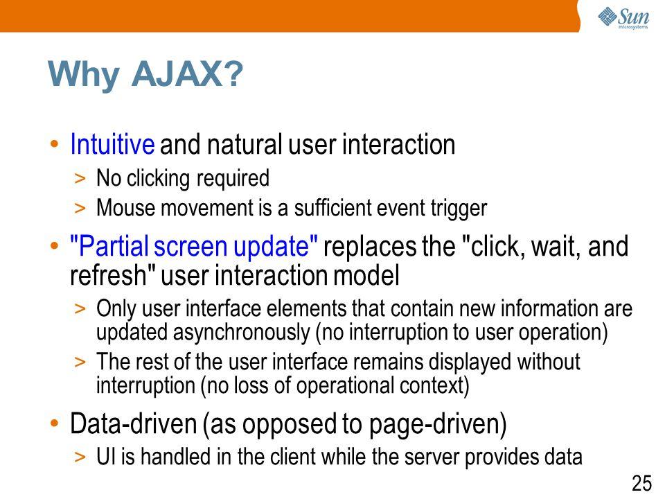 26 Why AJAX.