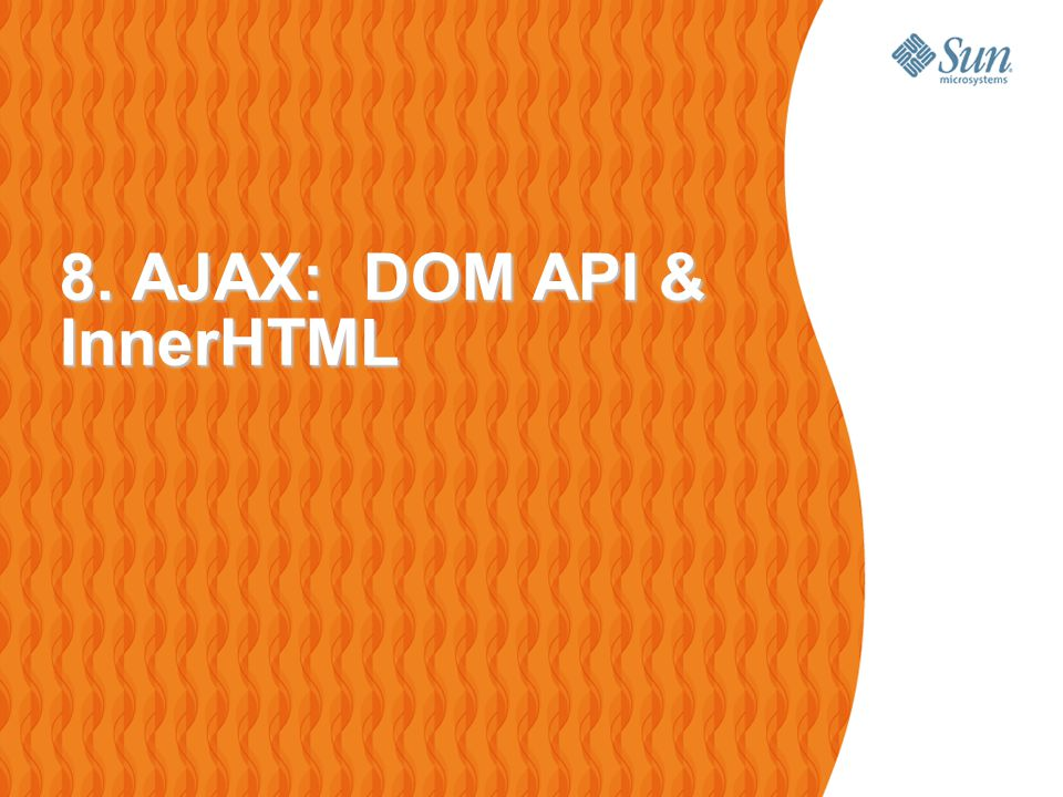 49 Browser and DOM Browsers maintain an object representation of the documents being displayed > In the form of Document Object Model (DOM)  > It is readily available as document JavaScript object APIs are available that allow JavaScript code to modify the DOM programmatically