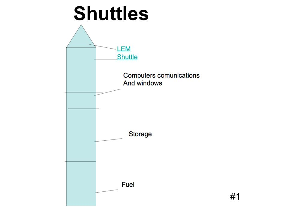 Shuttles #1