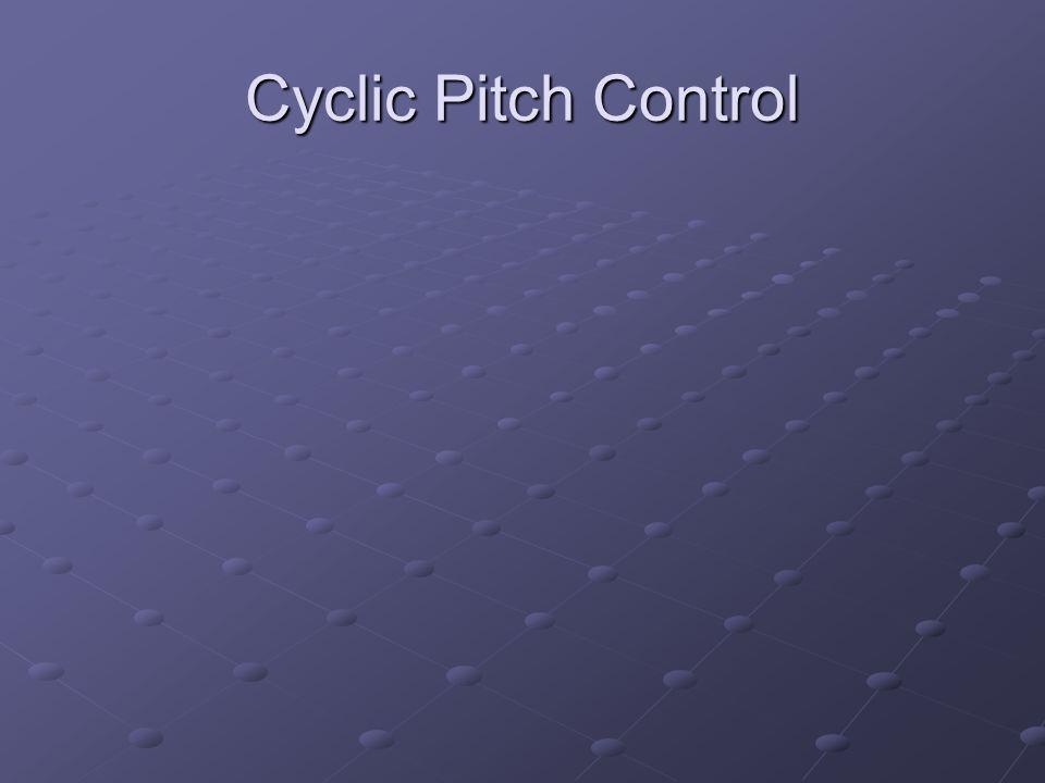 Cyclic Pitch Control