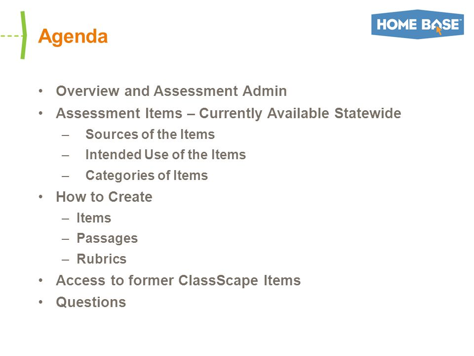 Assessment Item Categories In Item Central, item categories are listed under Browse by –There are 3 NEW categories this year