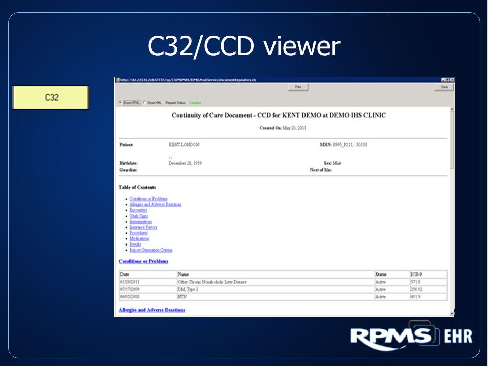 C32/CCD viewer