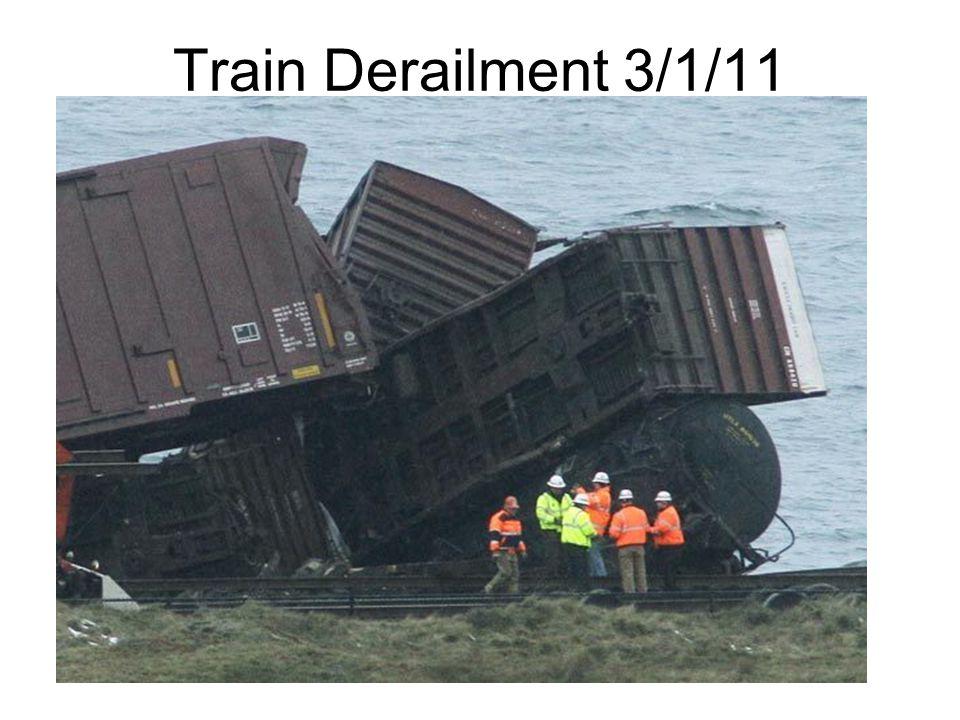 Train Derailment 3/1/11