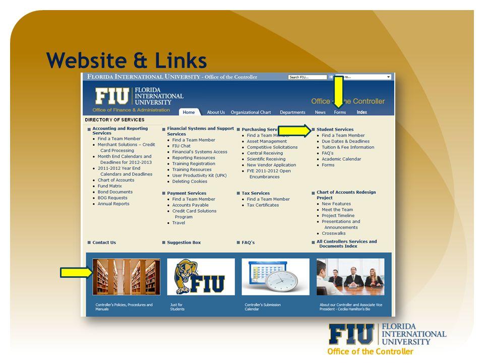 Website & Links