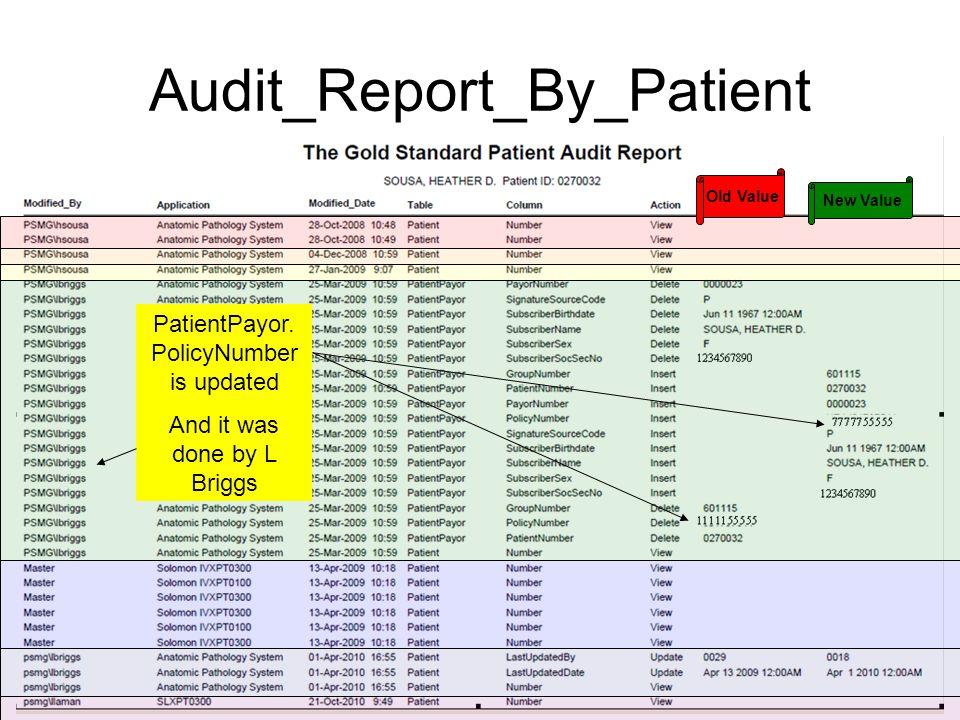 Audit_Report_By_Patient PatientPayor.