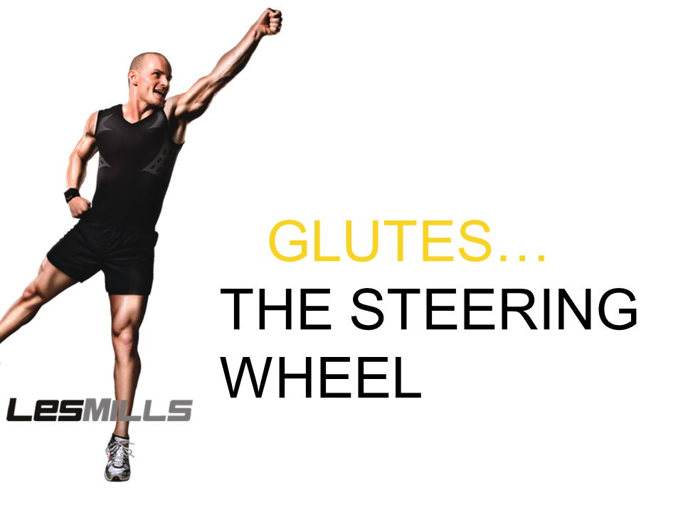 GLUTES… THE STEERING WHEEL