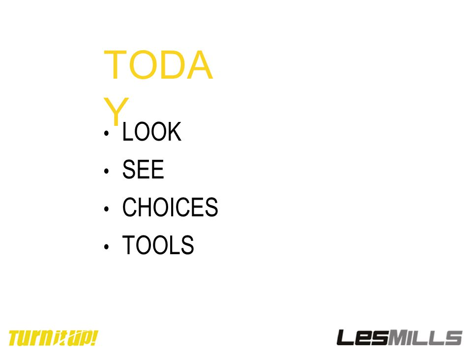 TODA Y LOOK SEE CHOICES TOOLS