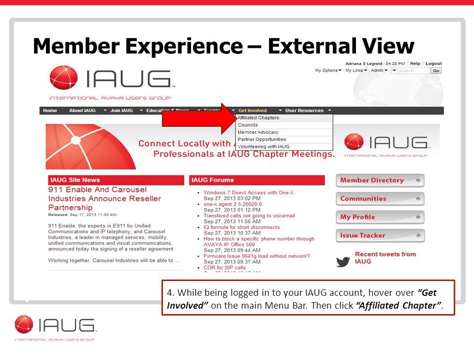 Member Experience – External View 4.