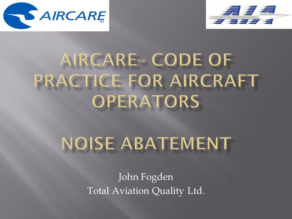John Fogden Total Aviation Quality Ltd.