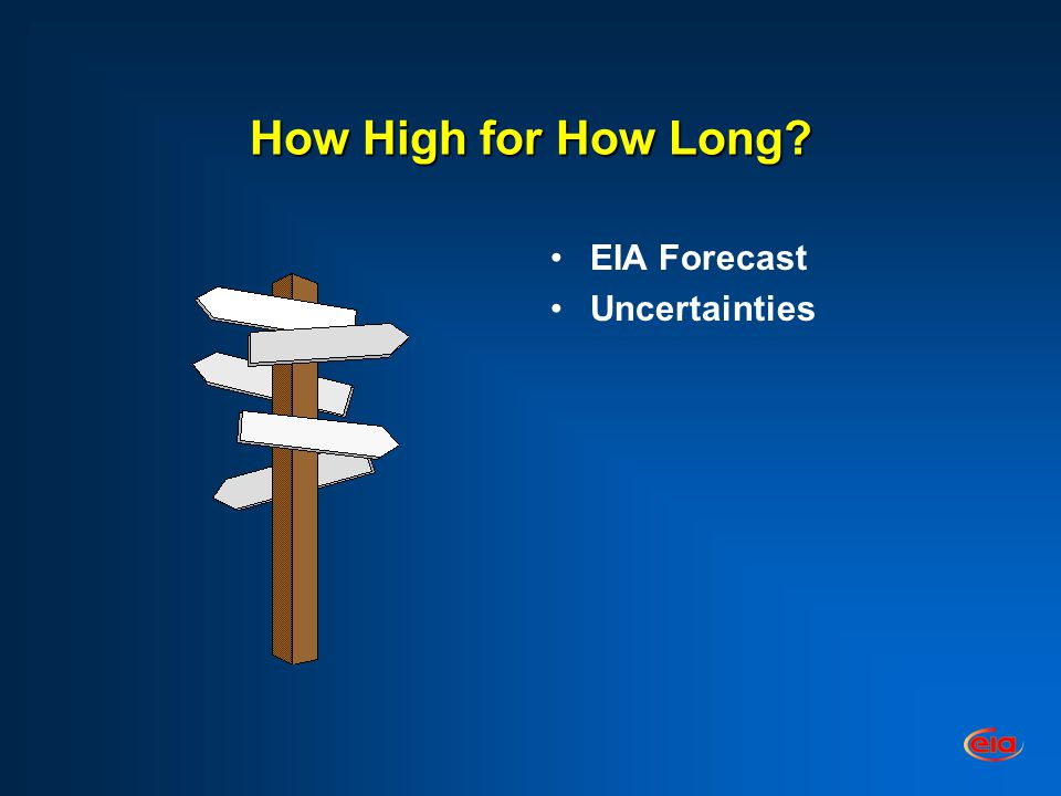 How High for How Long EIA Forecast Uncertainties