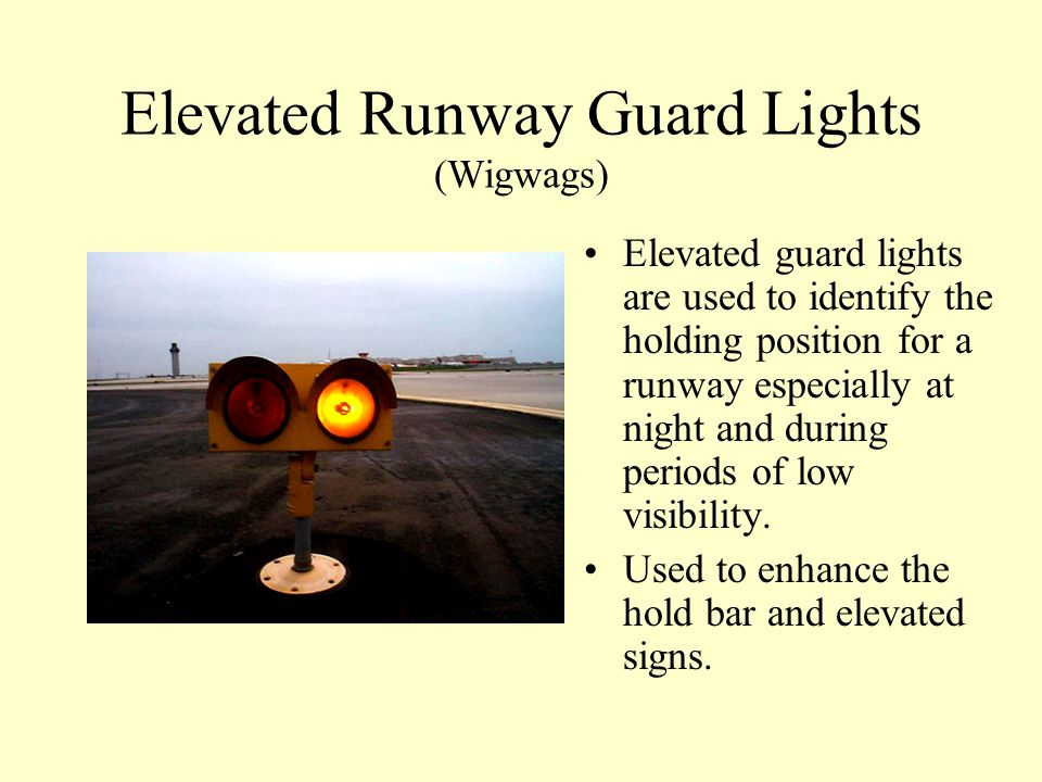 Taxiway Centerline Lighting Taxiway Centerline lighting is designed to facilitate ground movement, primarily during low visibility conditions. Taxiway