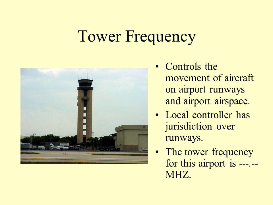 Radio Communication Tower Control Ground Control Phonetic Alphabet Proper Phraseology Light Gun Signals