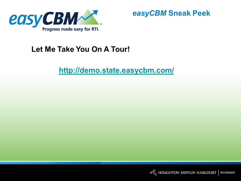 easyCBM Sneak Peek Let Me Take You On A Tour! http://demo.state.easycbm.com/