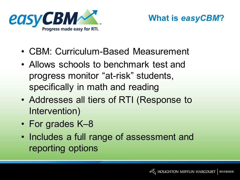 What is easyCBM.
