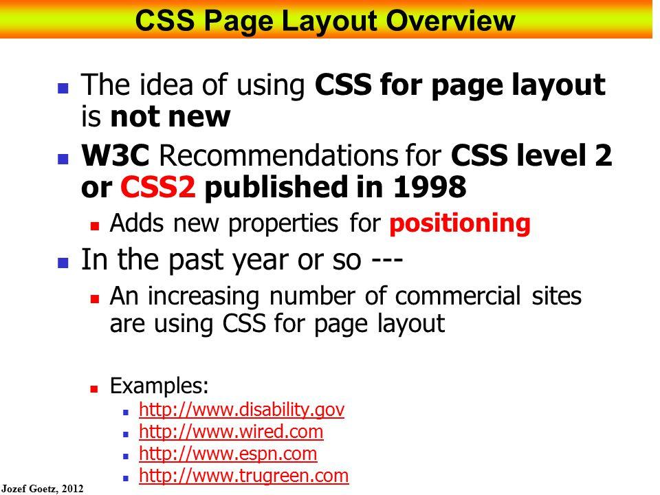 Jozef Goetz, 2012 53 HOP 6.6 HTML 5 53 nav { float: right; width: 150px; letter- spacing:0.1em; font- weight: bold; }