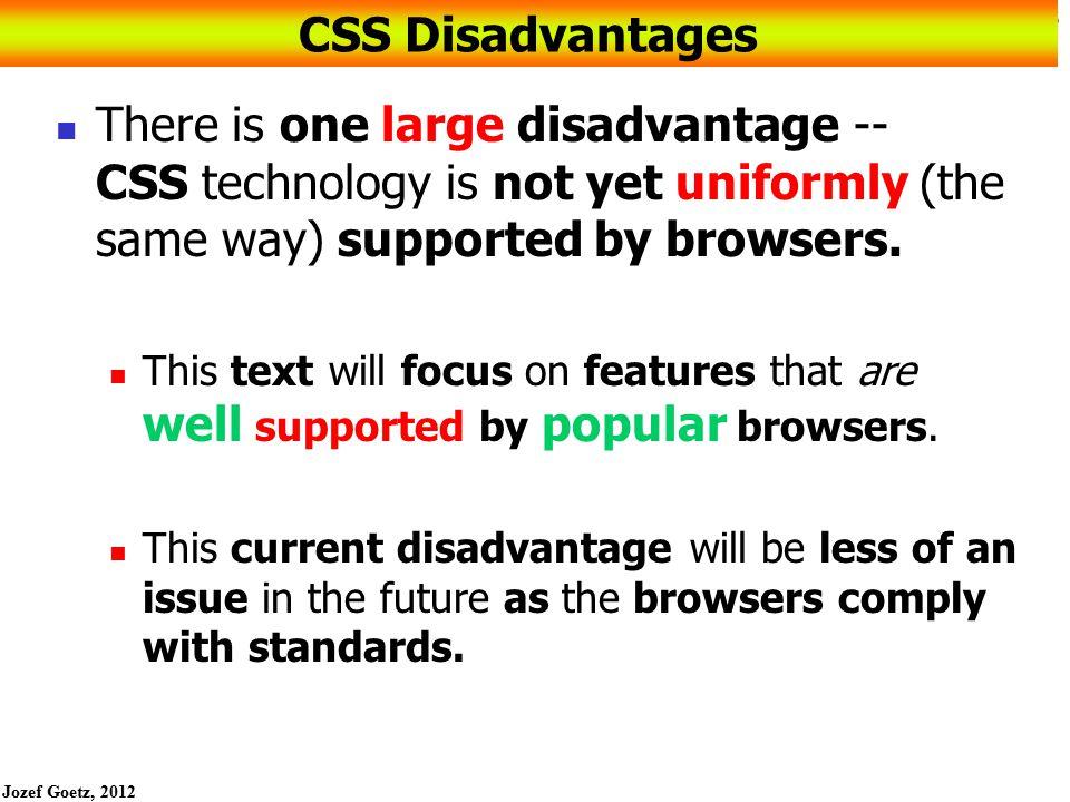 Jozef Goetz, 2012 36 CSS Page Layout Two Columns (top logo, left nav)