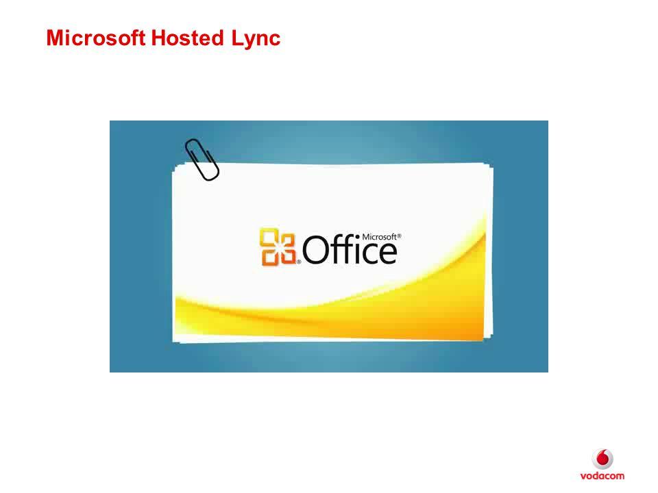 Microsoft Hosted Lync