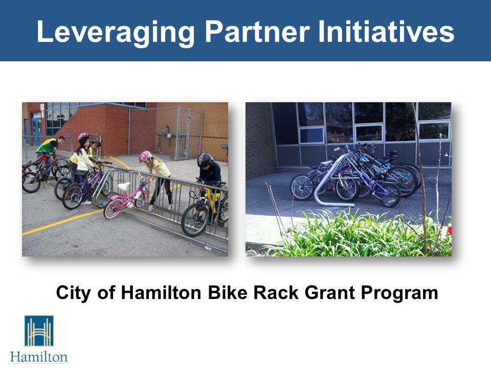 Leveraging Partner Initiatives City of Hamilton Bike Rack Grant Program