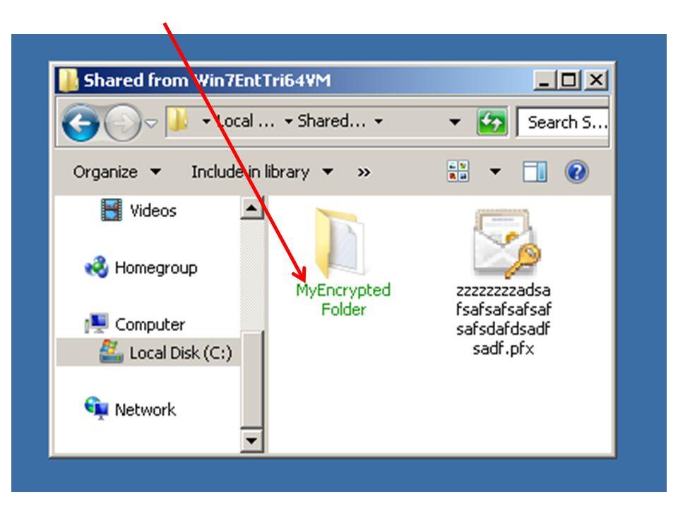 59 ENCRYPTING A FILE OR FOLDER WITH ENCRYPTING FILE SYSTEM Step 1: Start Windows Explorer ( File Explorer ).