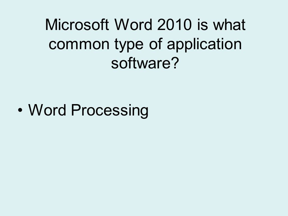 How do users switch from one ribbon to another in Word 2010?