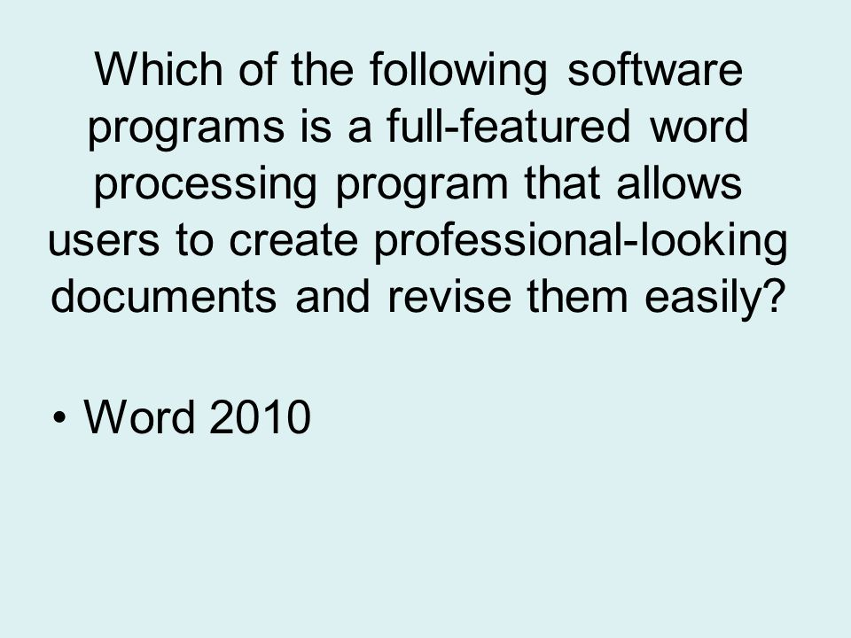 Which command is used to close the current document without exiting Word 2010 ?