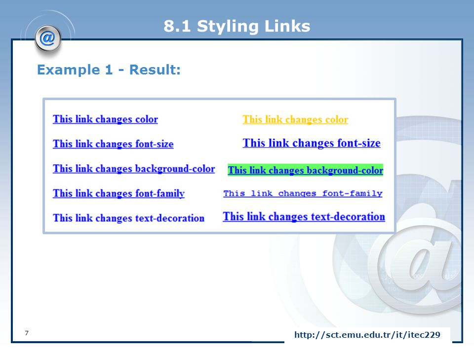 8.4 CSS Box Model The CSS Box Model  In CSS, the term box model is used when talking about design and layout.