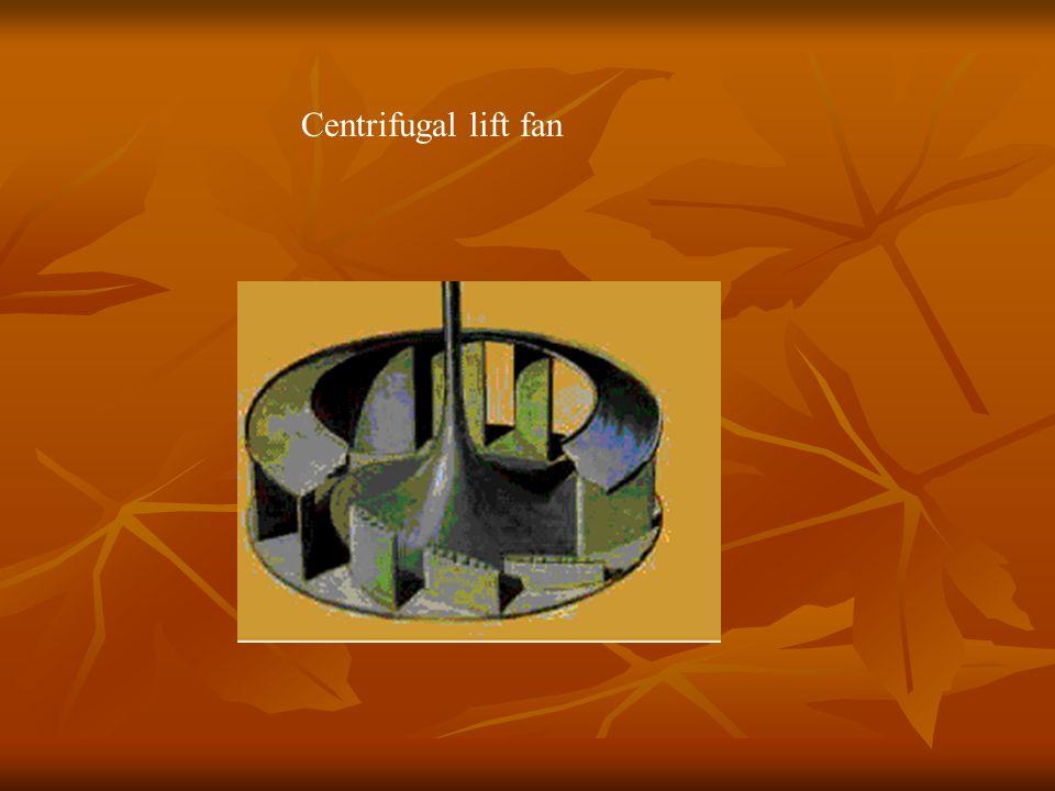 Centrifugal lift fan