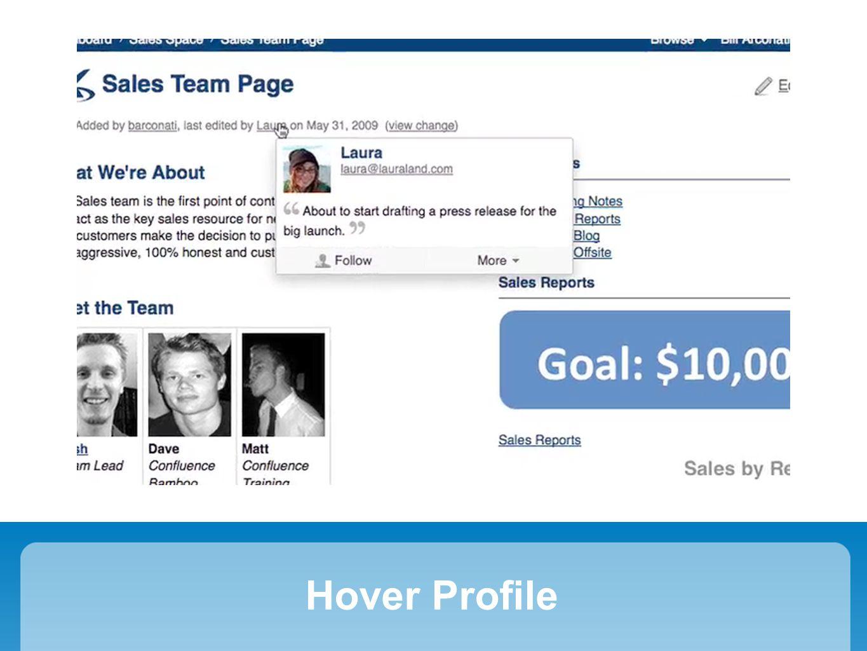 Hover Profile