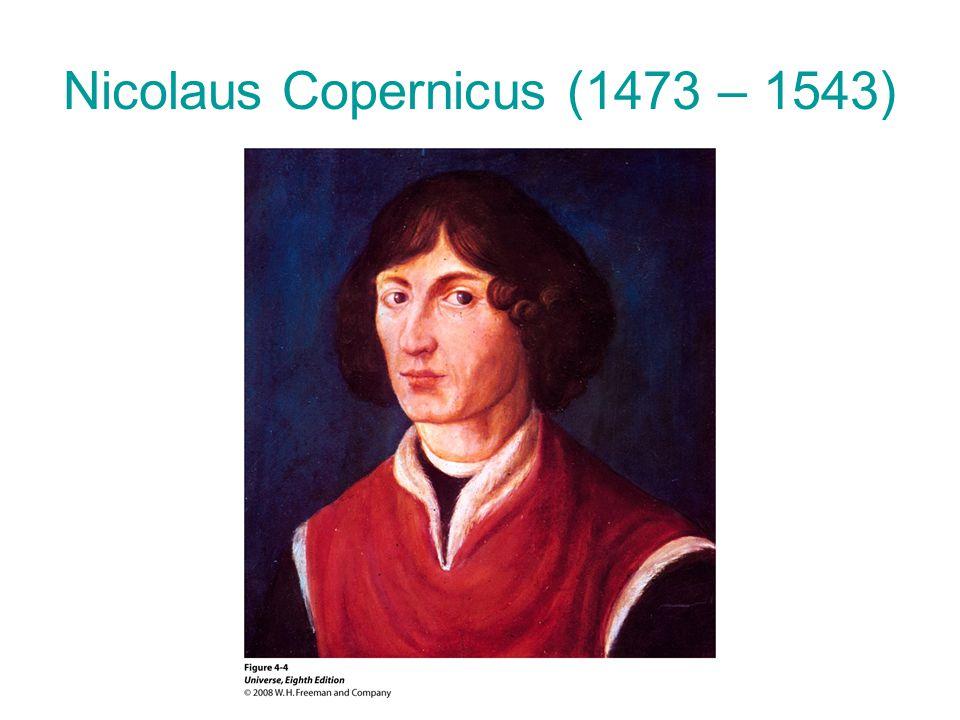 Nicolaus Copernicus (1473 – 1543)