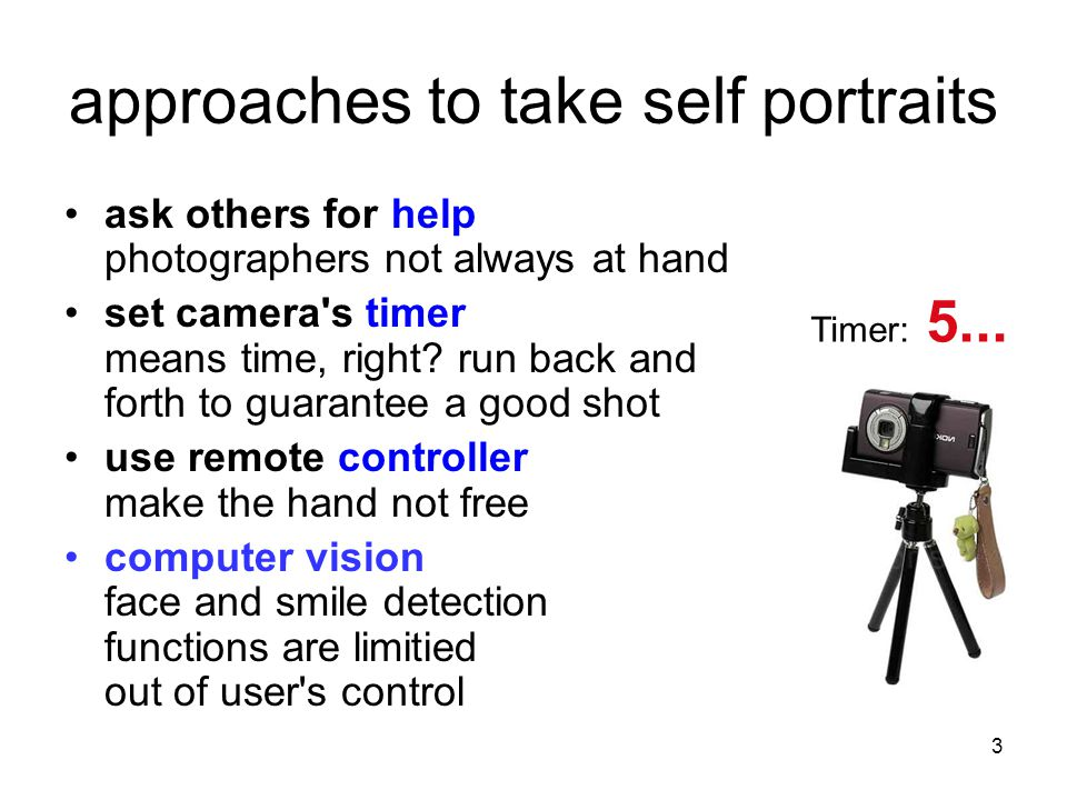3 approaches to take self portraits ask others for help photographers not always at hand set camera s timer means time, right.